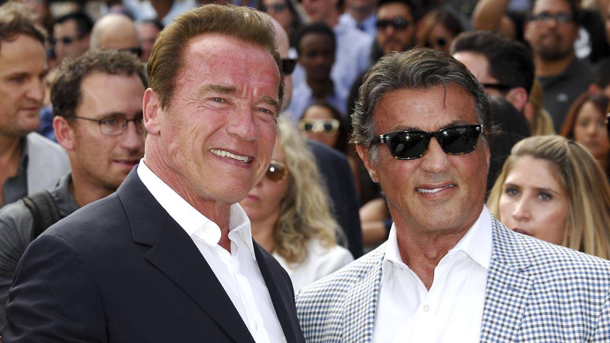 Schwarzenegger veralbert Stallone