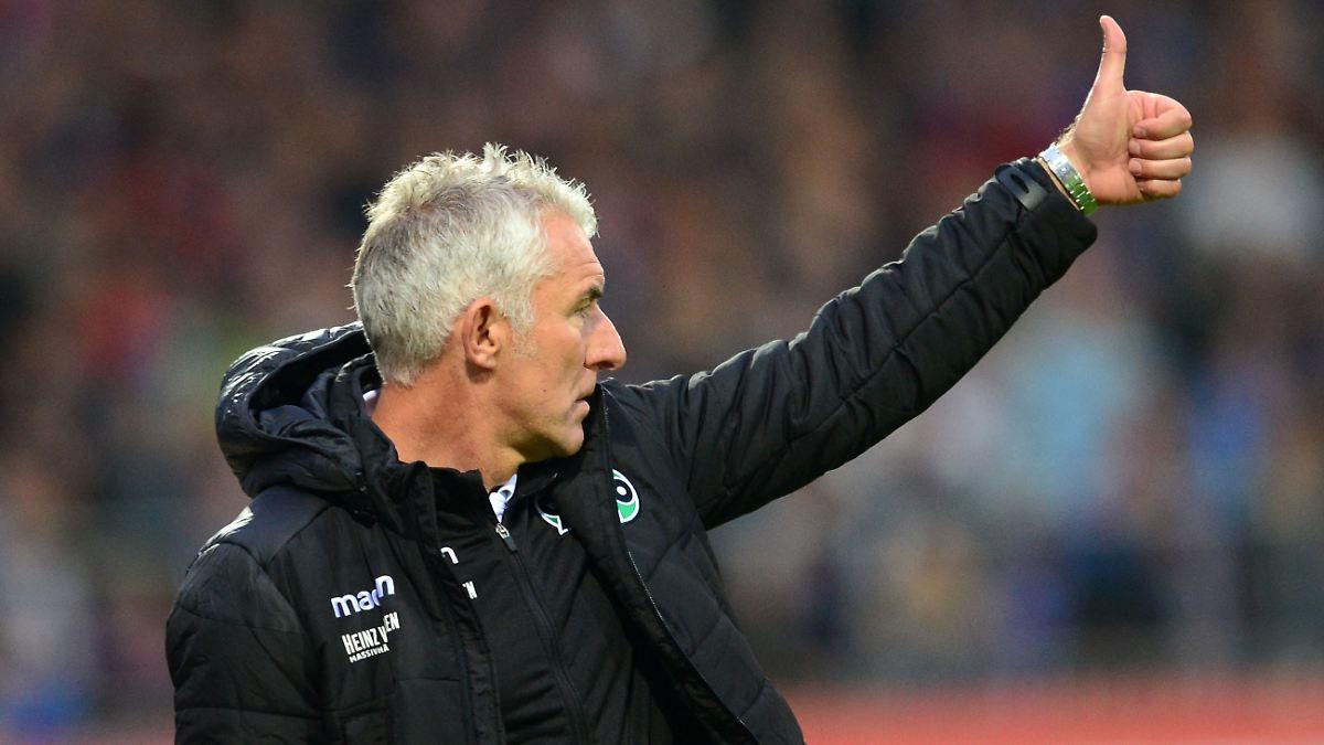 Hannover 96 rettet Coach Slomka den Job