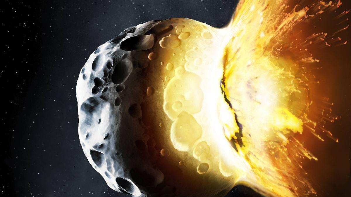Asteroiden-Crash löst Eiszeit auf Erde aus