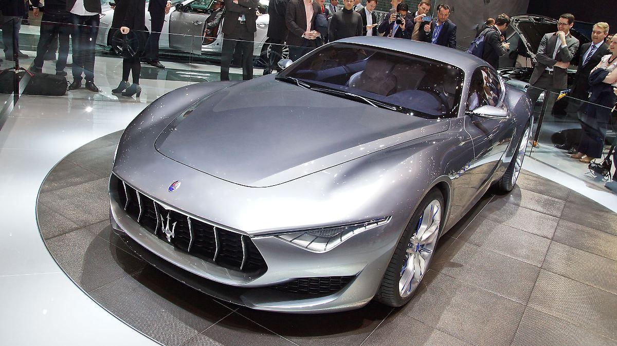 Die Zukunftspläne von Maserati
