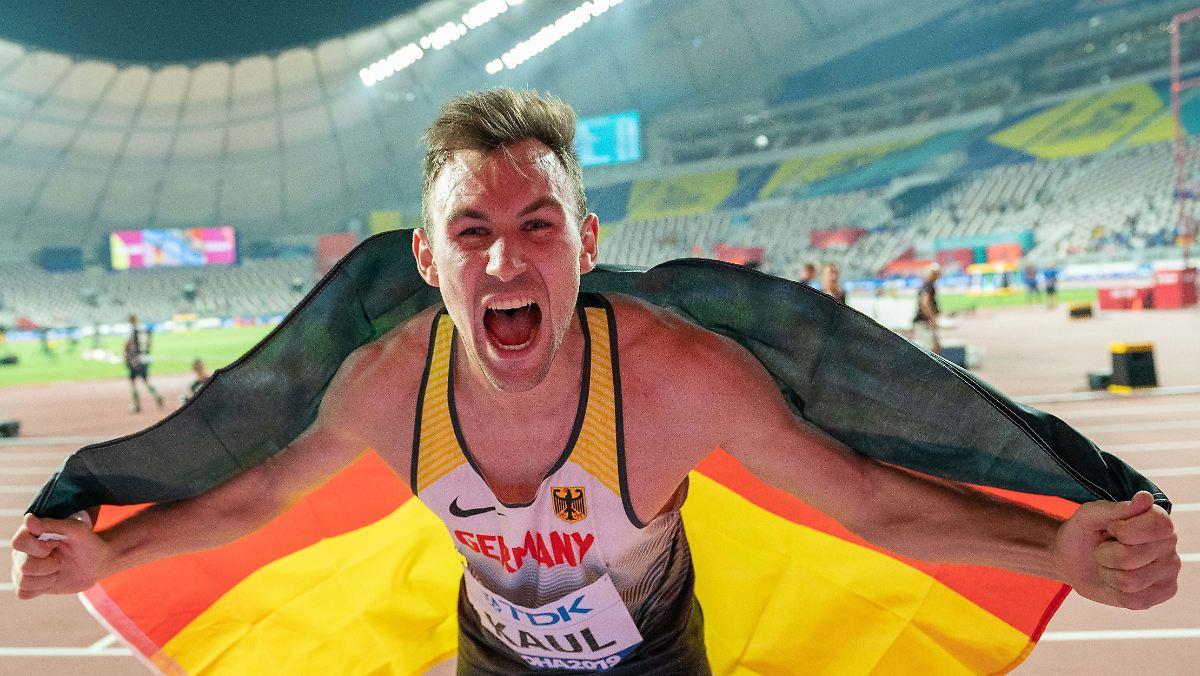 """Zehnkämpfer Kaul wird zum """"König der Athleten"""""""