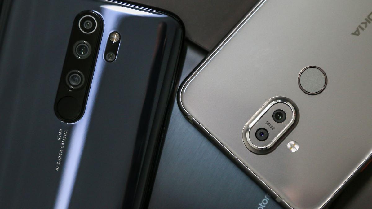 Die drei besten 300-Euro-Smartphones