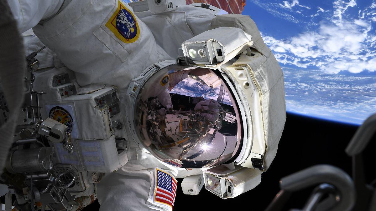 Astronautinnen-Duo sorgt für Weltsensation