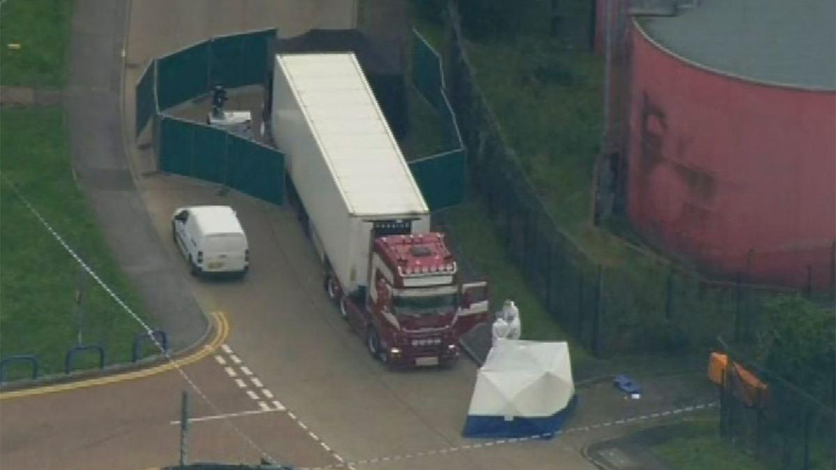 Polizei rätselt über Lkw mit 39 Toten