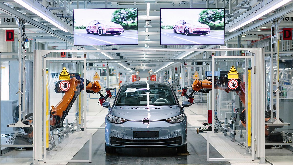 VW startet ID.3-Produktion in Zwickau