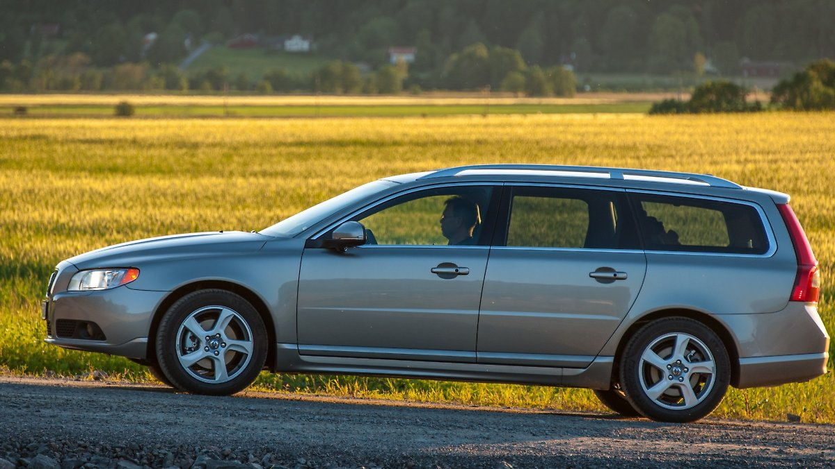 Volvo V70 - gut gealterter Schwede