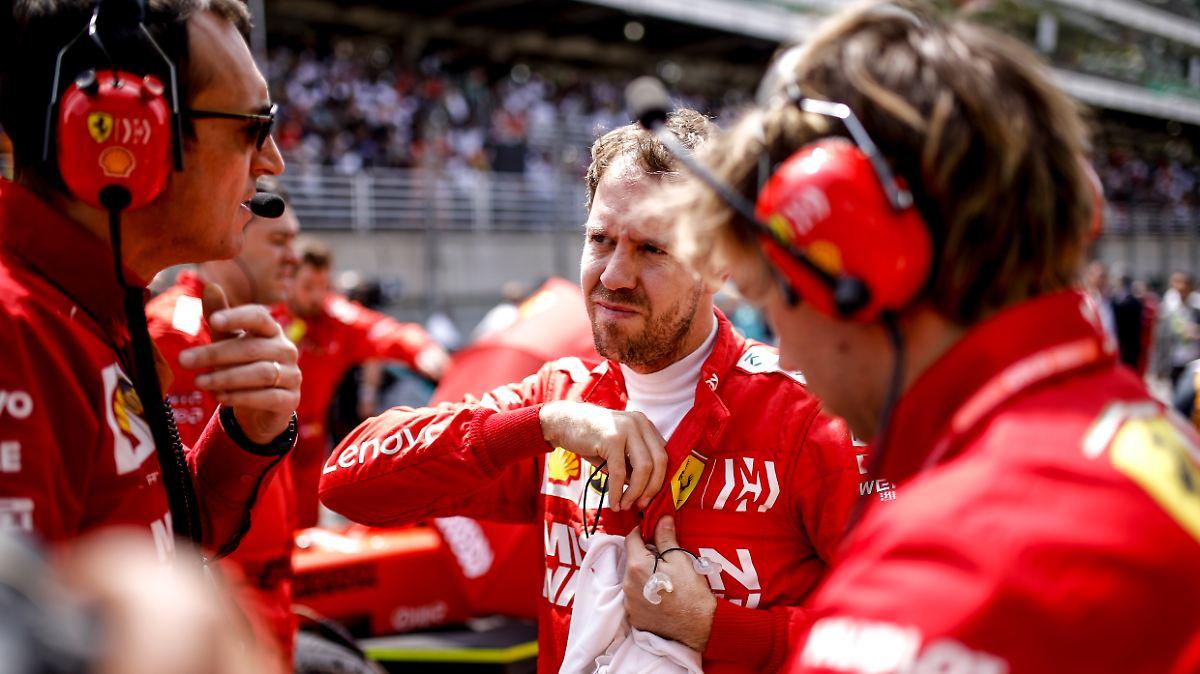 Vettel ist der große Verlierer bei Ferrari