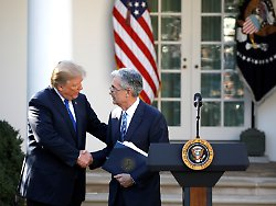 """Notenbankchef im Weißen Haus: Trump und Powell haben """"herzliches Treffen"""""""