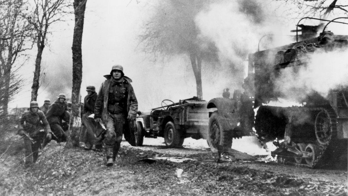 Als Hitlers Armeen in den Ardennen verbluten