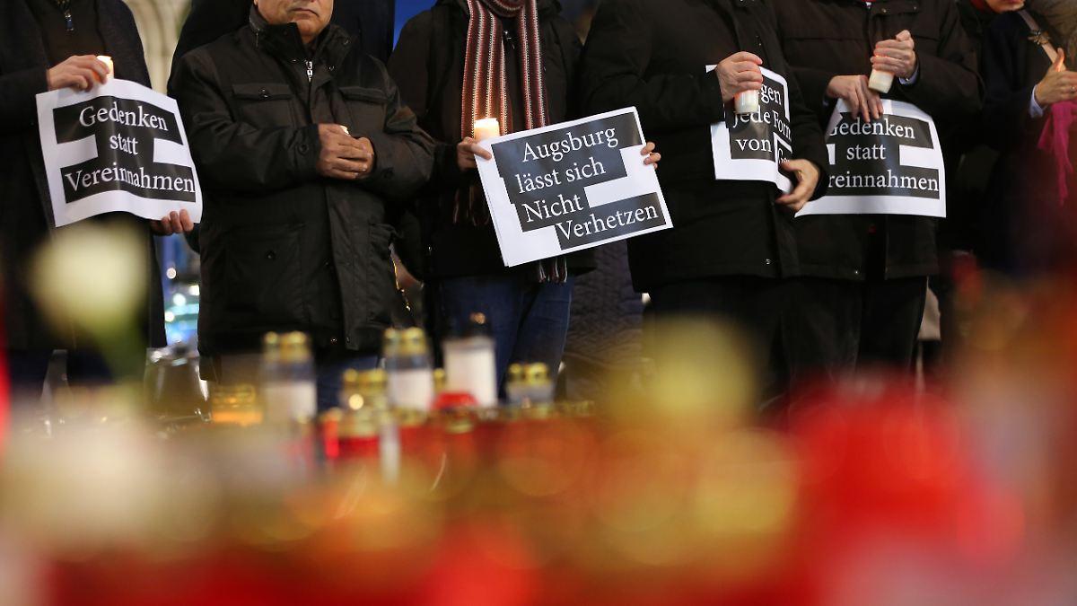 Gewalttat in Augsburg spaltet soziale Medien