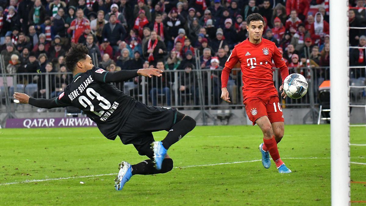 FC Bayern kantersiegt den Schreck weg