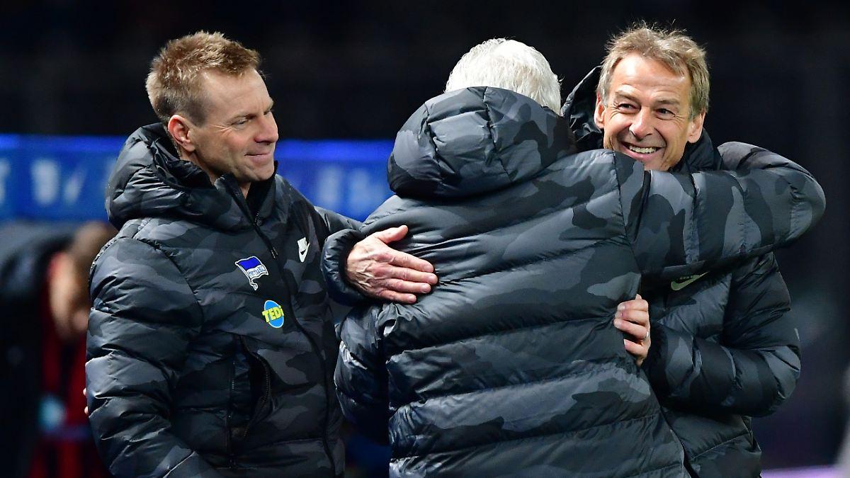 Klinsmann pfeift auf Fußball mit der Hertha