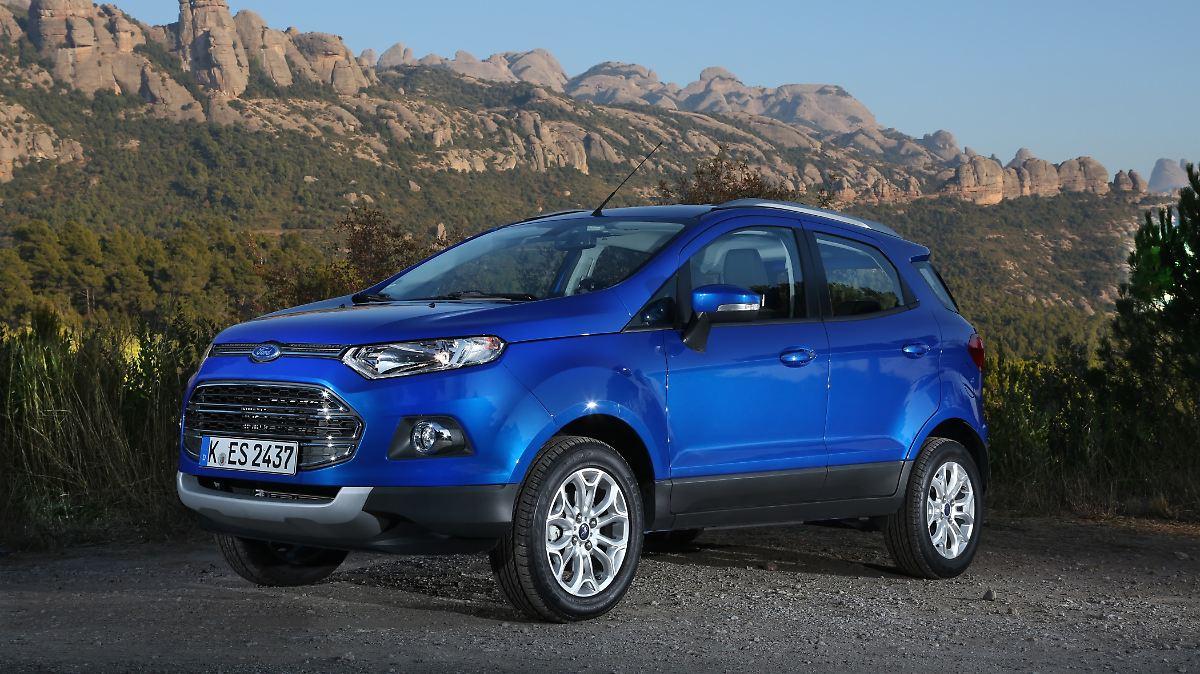 Ford EcoSport - gebraucht eine solide Wahl