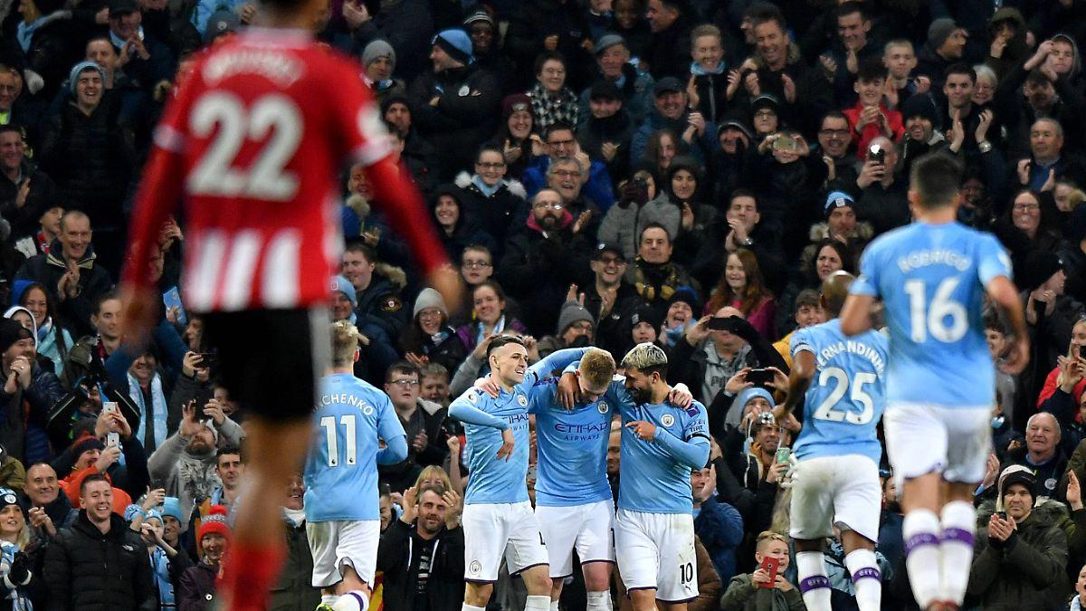 Man City verkürzt Rückstand auf Leicester