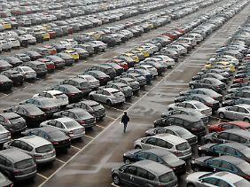 ZF profitiert besonders von der Fahrzeugproduktion in China (hier im Bild das Ford-Mazda-Werk in Chongqing).