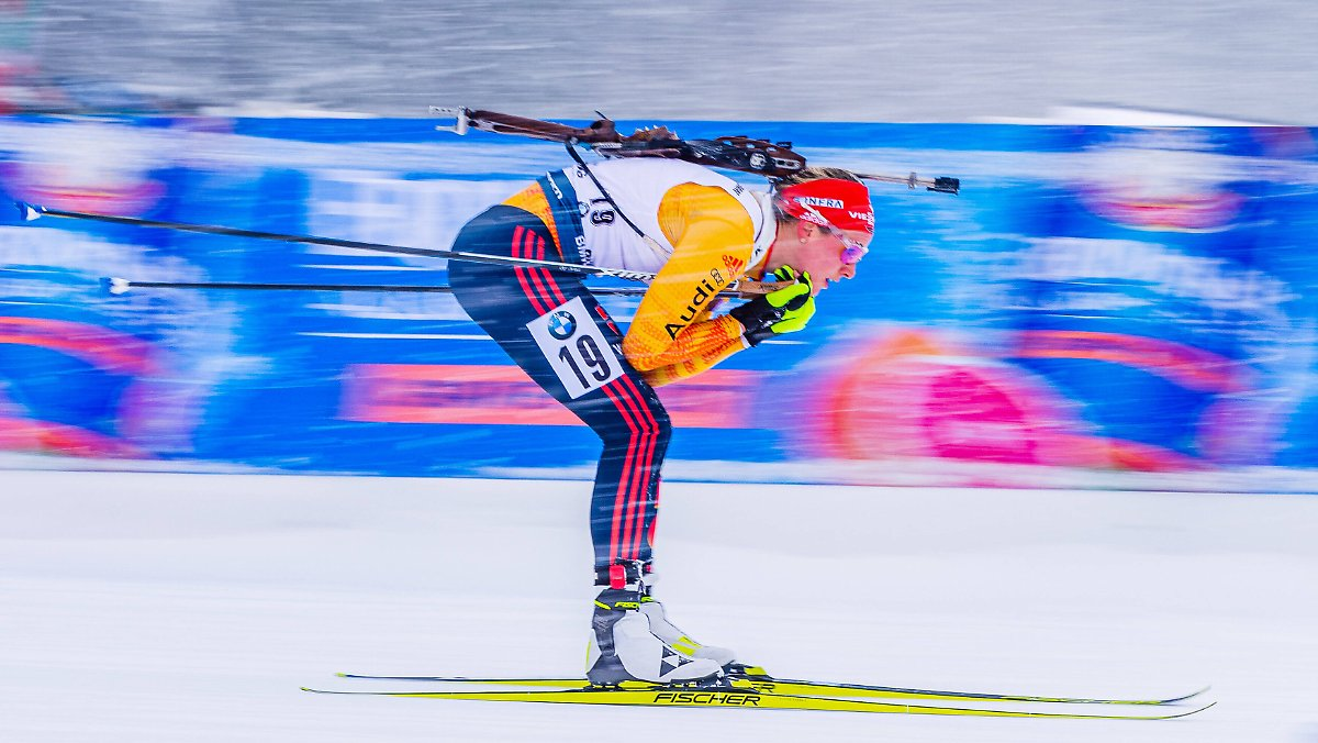 Herrmann düpiert die Biathlon-Elite