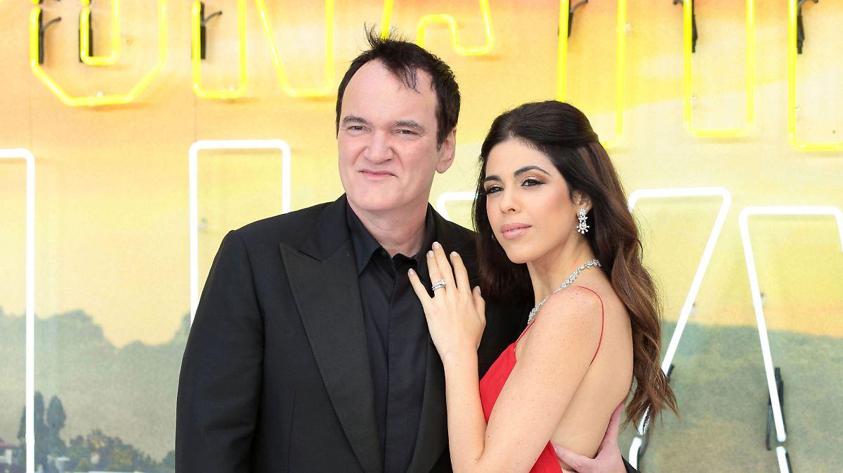 Tarantino wird zum ersten Mal Vater