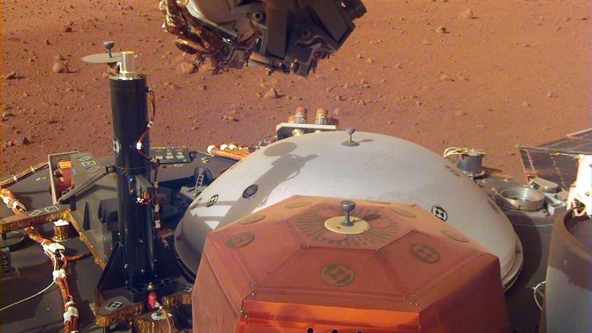 Frage um Marsbeben ist geklärt
