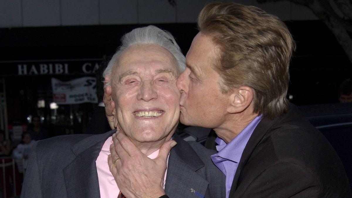 Kirk Douglas enterbte Sohn Michael
