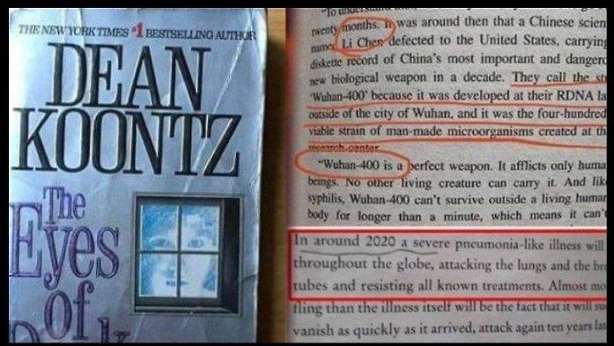 Buch über Virus Wuhan
