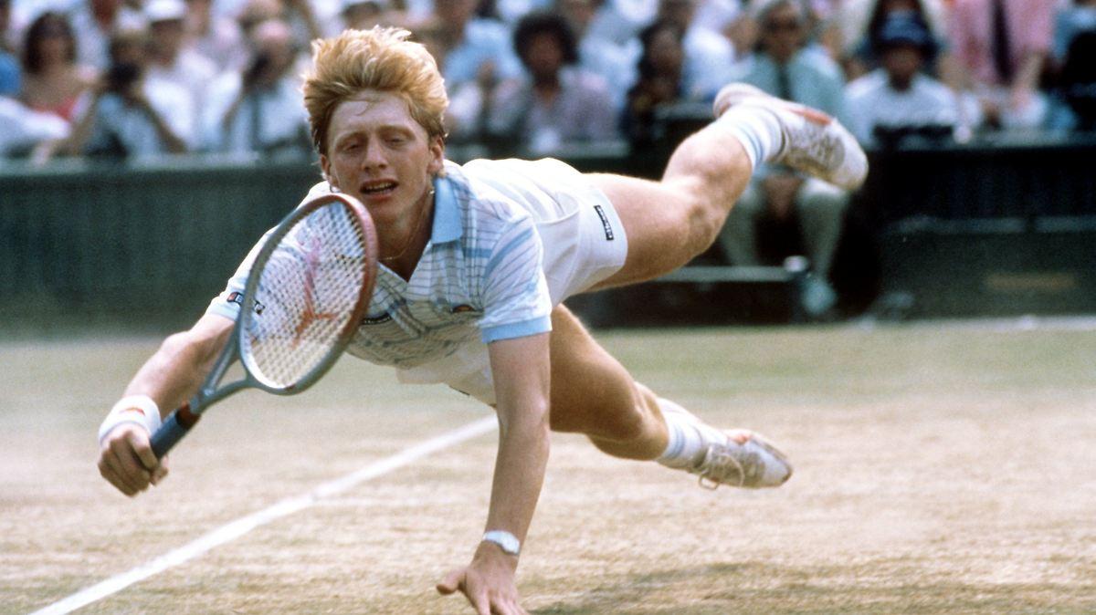 Als Boris Becker auf dem Mond landete