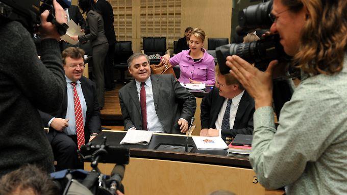 Peter Müller im Bundesrat.