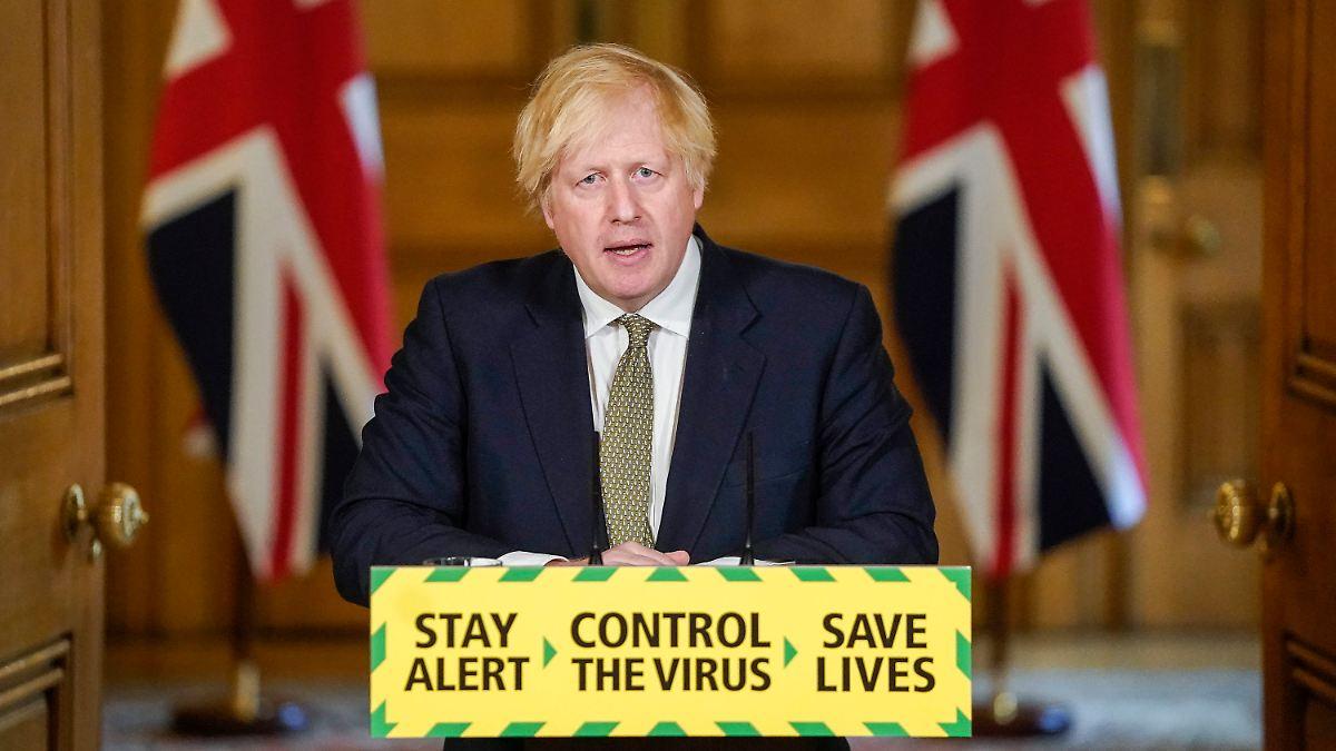 Regierungsaccount postet Johnson-Kritik
