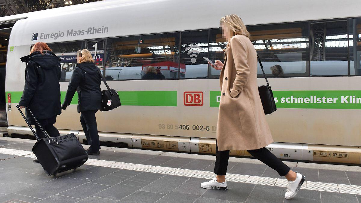 Bahn-App warnt vor vollen Zügen