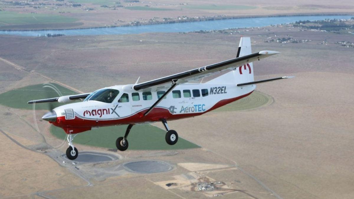 Erstes Passagierflugzeug mit E-Antrieb