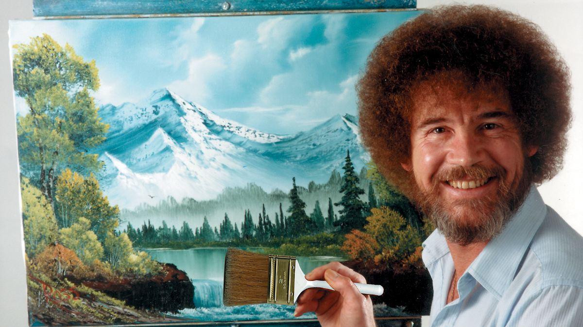 Das Mysterium des Malers Bob Ross