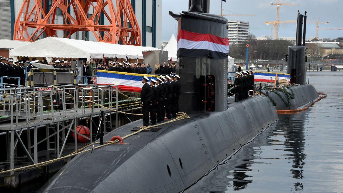 Bund genehmigt weiteres U-Boot für Ägypten