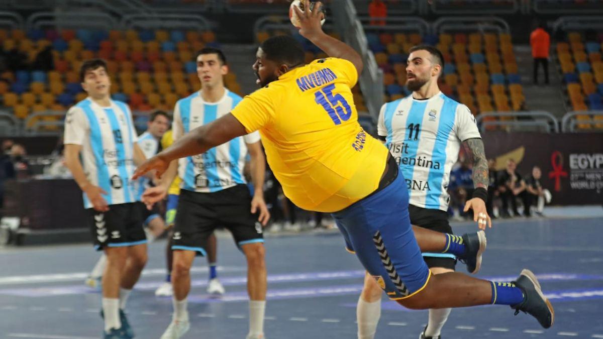 Handballer Mvumbi ist kolossal: Die größte WM-Geschichte, ganz ohne Corona