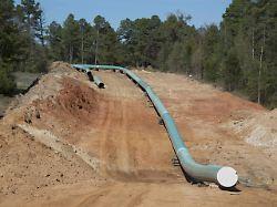 """imago0066643501h - Aus für die """"Zombie-Pipeline"""": Biden will Keystone XL stoppen"""