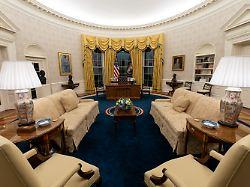 Was lernen wir daraus?: Biden dekoriert das Oval Office um