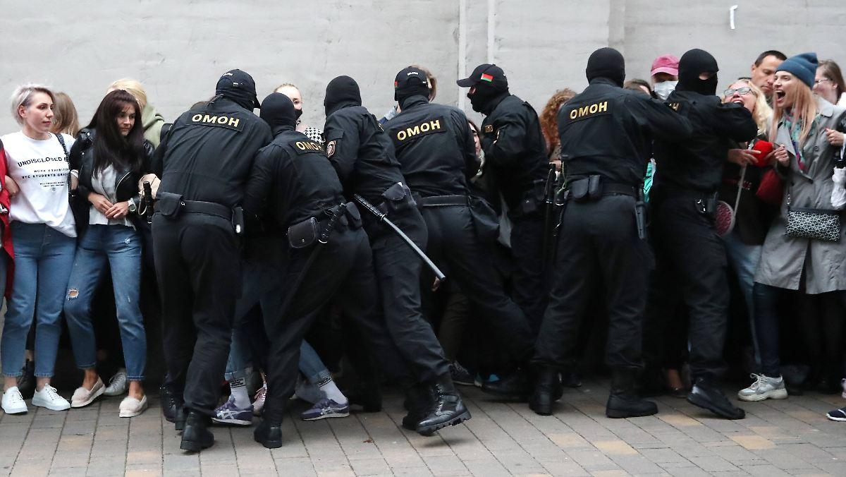 Demonstranten gefoltert und getötet