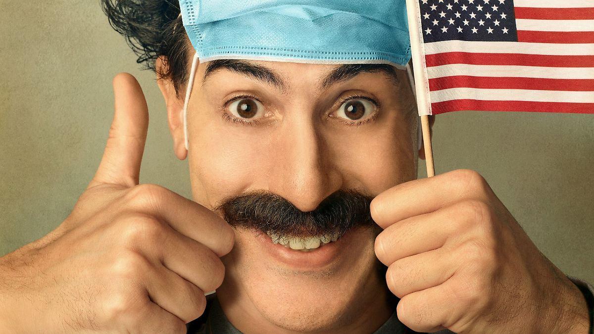 Nach Trump-Abwahl zu gefährlich:Sacha Baron Cohen sagt Borat adieu - n-tv NACHRICHTEN