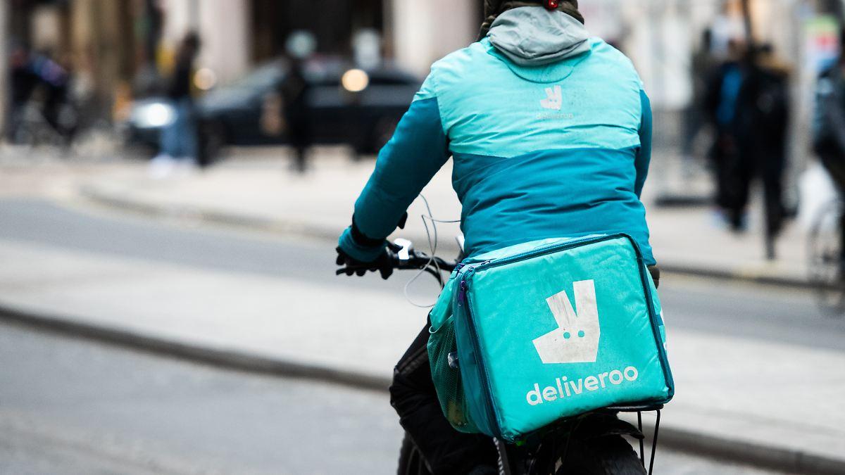 Prämien für Fahrer:Deliveroo plant Milliarden-Börsengang - n-tv NACHRICHTEN