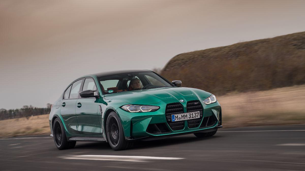 Jetzt auch mit Drift-Hilfe:BMW M3/M4 - nicht nur für den heißen Kreis - n-tv NACHRICHTEN