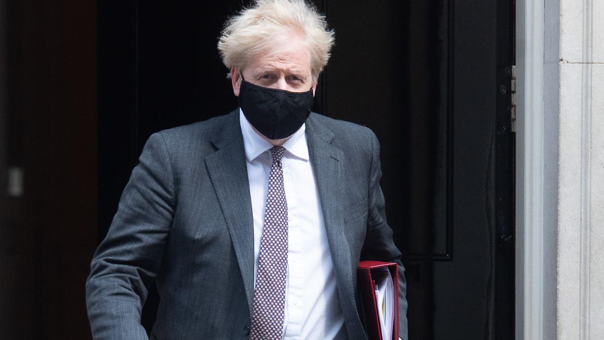 Lobbyismus wegen Beatmungsgerät?: Kritik an Johnson wegen Kontakt mit Dyson