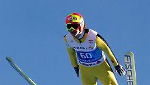 Überflieger in der Qualifikation: Tom Hilde aus Norwegen.