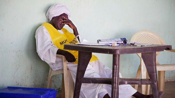 Registrierung für das Referendum im Südsudan.