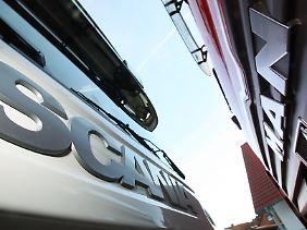 MAN hält 13,35 Prozent der Scania-Anteile.