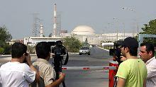 Das Atomprogramm des Iran wird im Westen mit Argwohn betrachtet.