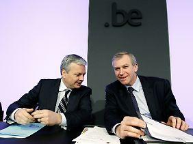 Yves Leterme (rechts) und Didier Reynders regieren noch immer.