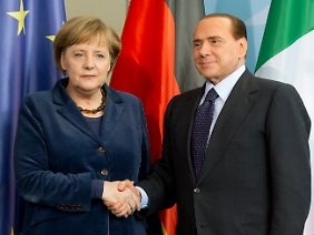 Angela Merkel vertraut auf die italienische Regierung.