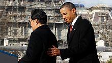 Hu Jintao und Barack Obama: Chinesisch-amerikanische Gesprächsrunde.