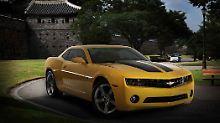 Chevrolet tritt in Korea für Daewoo an.