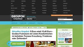 Macht auch in vielen deutschen Städten bereits Schnäppchen-Angebote: Groupon.