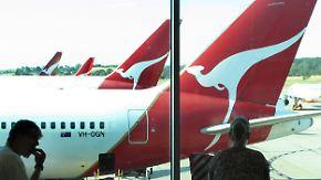 Plötzlicher Druckabfall: Qantas-Flieger sackt in die Tiefe
