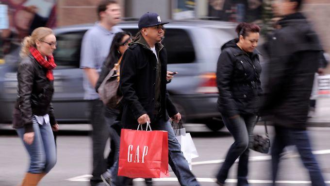 Die Amerikaner werden wieder deutlich konsumfreudiger.